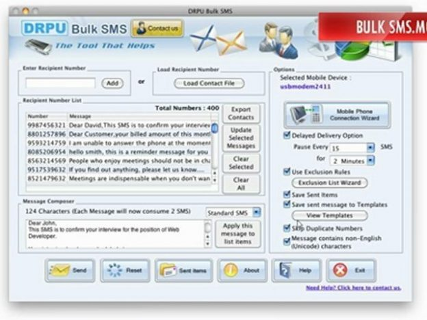 bulk sms software free download in chennai